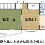 南面2室間取(間取)