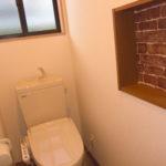 ニッチのあるおトイレ