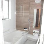 バスルームは1坪あります(風呂)