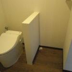 トイレと洗濯機置場